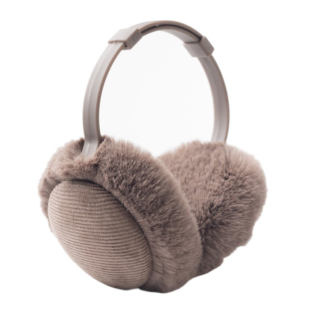 Women's Winter Warm Earmuffs Thickened Adjustable Plush Ear Cover Keep Ears Warm