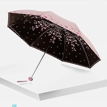 Pliable anti UV Pluie Soleil Léger Compact Parapluie Coupe-vent parasol