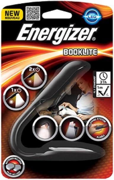 Energizer Flexible Booklite Clip Livre Lampe DEL Lampe de poche design compact