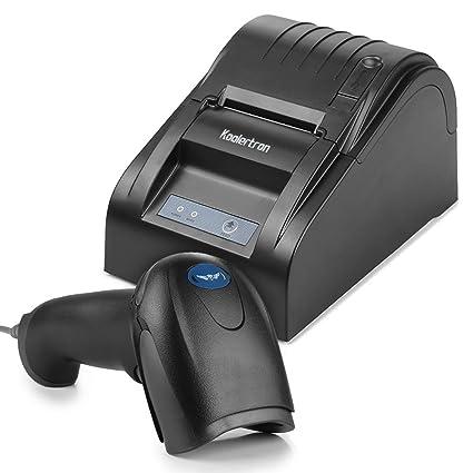Koolertron - 58 mm USB POS impresora térmica de recibo y ...