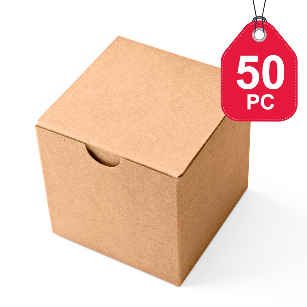 nuolux 50pcs kraft boxes christmas candy boxes. Black Bedroom Furniture Sets. Home Design Ideas