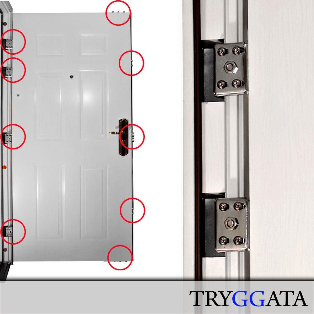 Wohnungseingangstür sicherheitstür  Sicherheitstür HAUSTÜR Wohnungstür Stahltür Wohnungstür linker ...