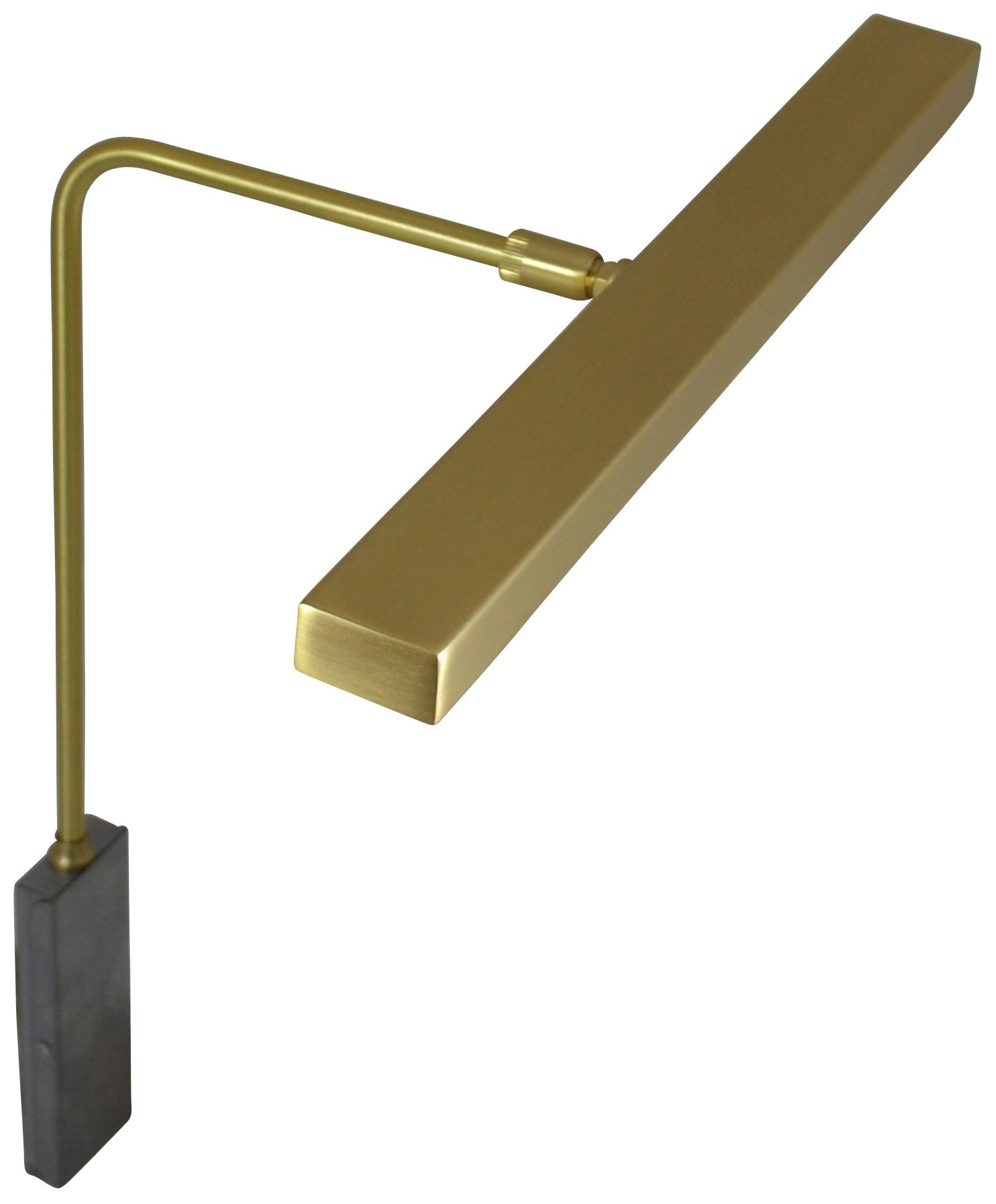 House of Troy HLEDZ12-51 Horizon LED Picture Light, 12'', Satin Brass by House of Troy