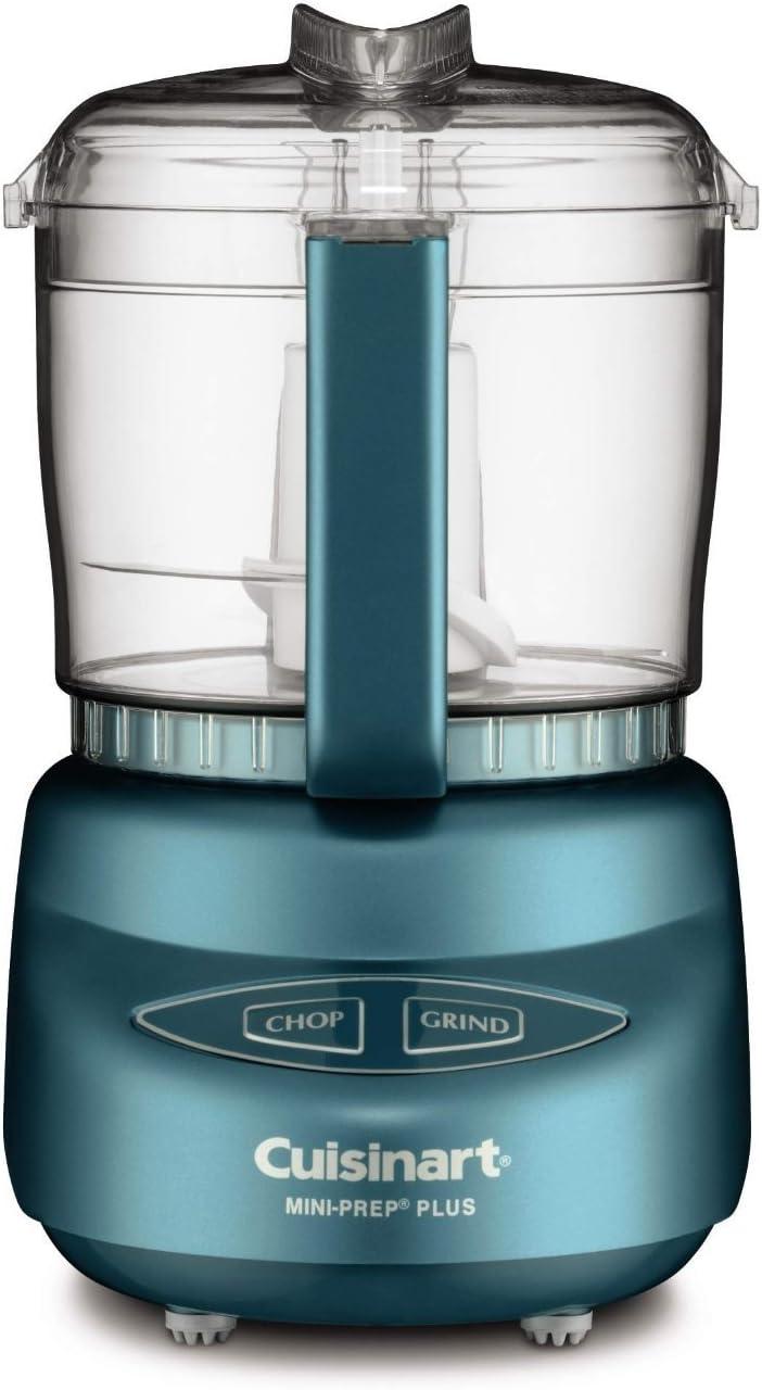 Cuisinart DLC-2ABM - Mini-Prep Plus Food Processor (Ice Blue Mint) (Certified Refurbished)