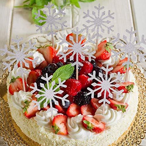 Fait A La Main 10 Paillettes Decoration Gateau Toppers Pour Cupcake