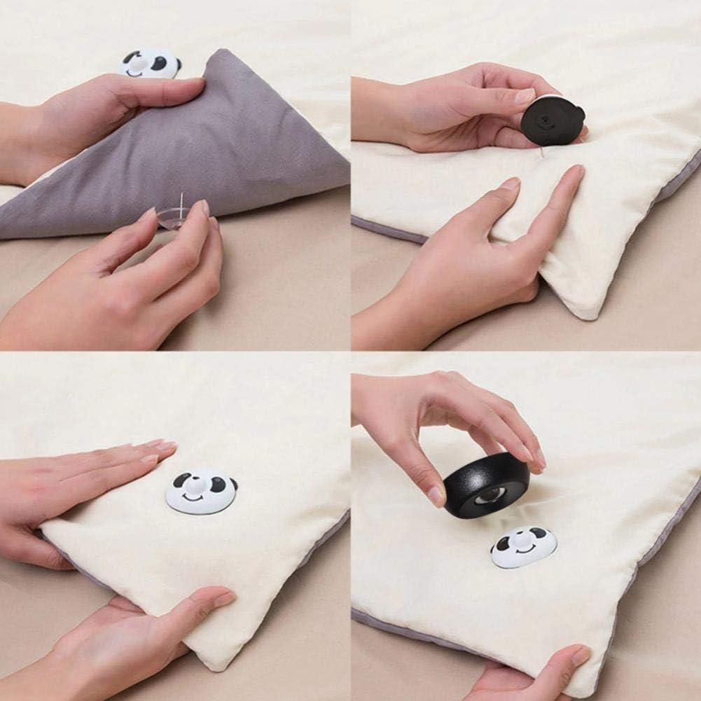 Lankater 8pcs Quilt Panda Couverture Gripper Lit Supports De Feuilles Clips Amovible Boucle Non-Slip Quilt Fermeture /À Boucle