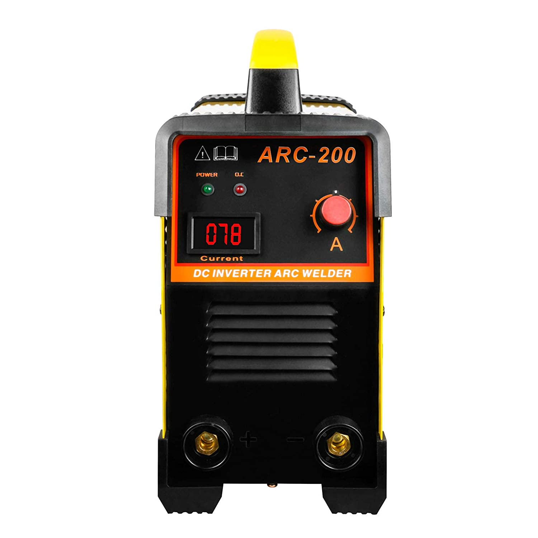 BELEY Arc-200 Soldadora Inverter Arco IGBT, AC 220V 30-160Amp Equipo de Soldadura Máquina Se Ajusta a 1.6-3.2mm Soldadura Rod: Amazon.es: Bricolaje y ...
