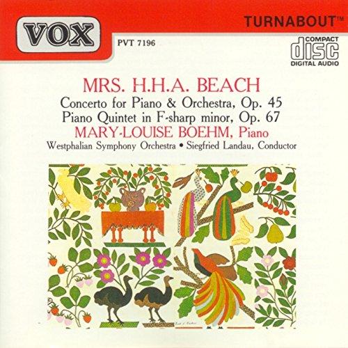 (Beach: Piano Concerto / Piano Quintet)