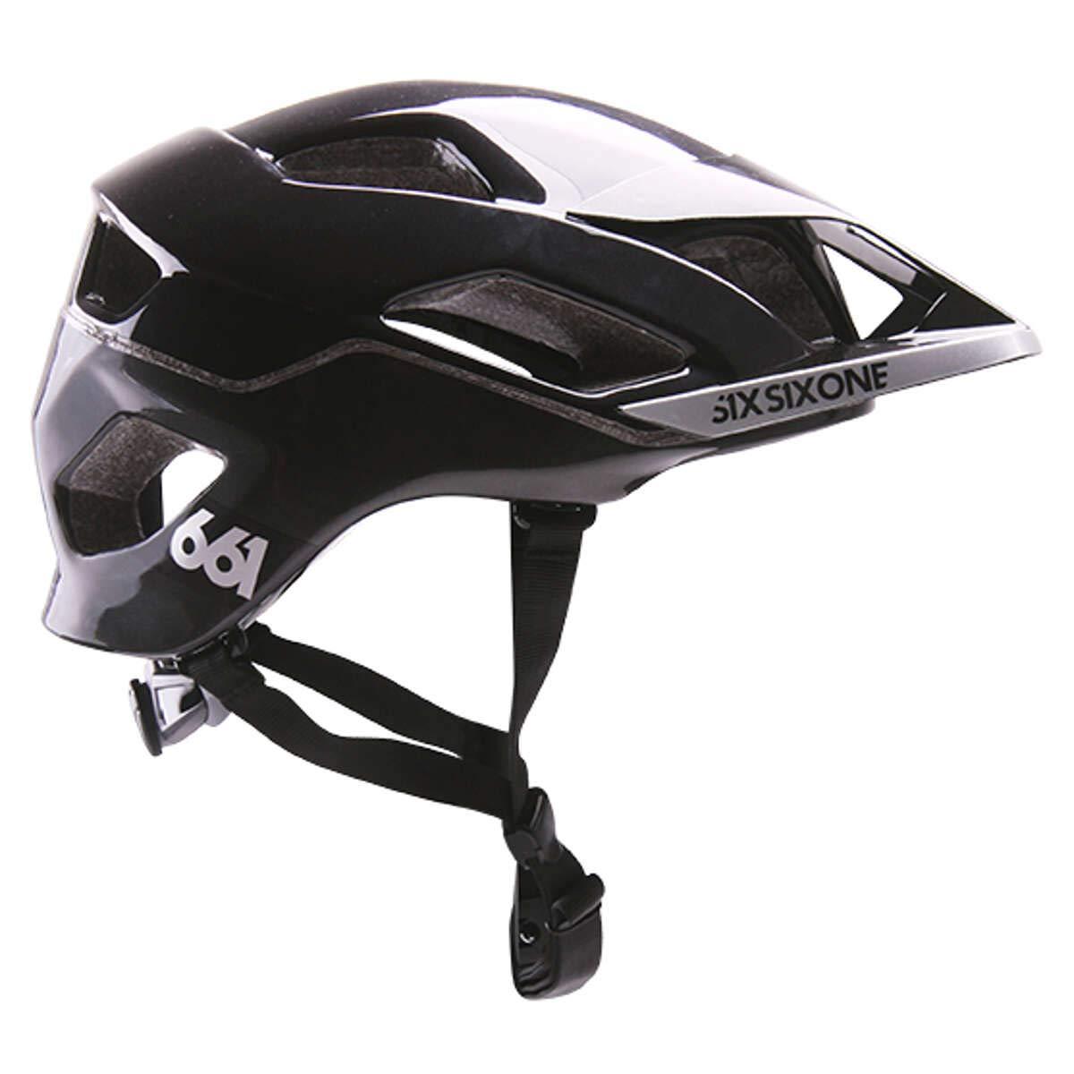 SixSixOne Enduro-MTB Helm Evo AM MIPS Schwarz Gr. XS/S