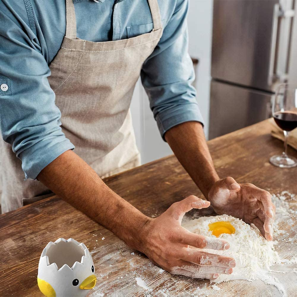 Separatore di Uova Carino per Cucina Campeggio Separatore di Uova panetteria Separatore di Tuorli DUovo Novit/à Separatore di Uova Separatore di Tuorli DUovo Lavabile in lavastoviglie