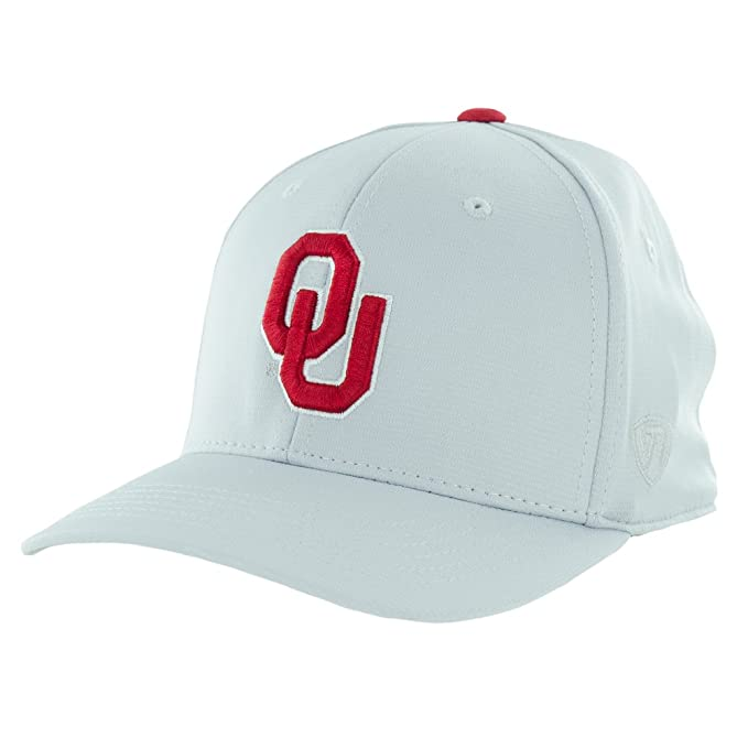 Top of the World Oklahoma Sooners Official NCAA One Fit Impact Hat 057941 91d7a797b60