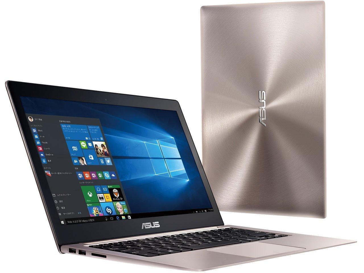 [12.5インチ・Core i5・メモリ 8GB・SSD 256GB] グレー ZenBook 3 【送料無料】 ASUS UX390UA-256GGR ノートパソコン