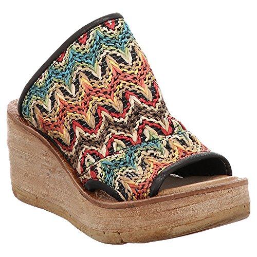 As98 As98 | Airstep | Sandalo | Pantolette - Colorato | Nero Multicolor
