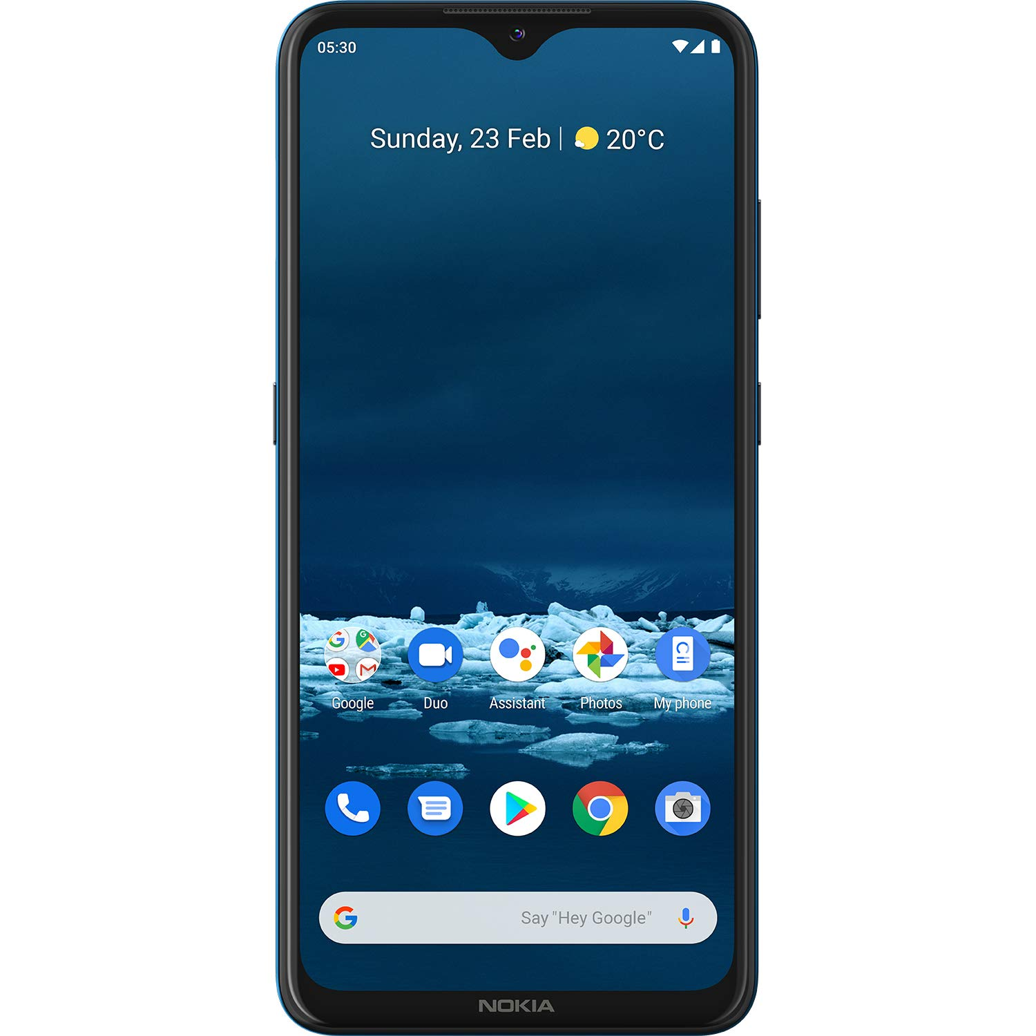 Nokia 5.3 Android One Smartphone with Quad Camera, 4 GB RAM and 64 GB Storage - Cyan