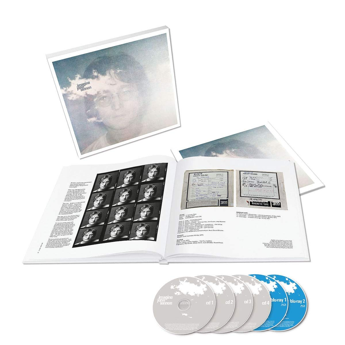 CD : John Lennon - Imagine: The Ultimate Collection (With Blu-ray, Collector's Edition, Remixes)