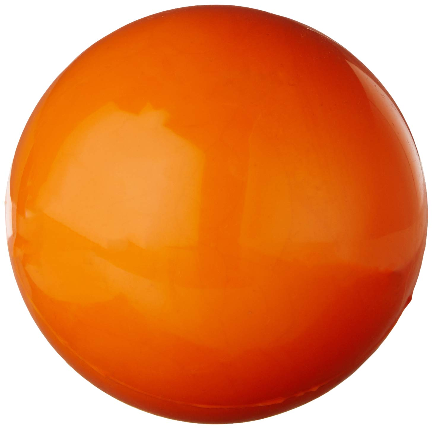 Indestructible Dog Ball – Lifetime Replacement Guarantee! – Tough Strong, 100% Non-Toxic Chew Toy, Natural Rubber Baseball-Sized Bouncy Dog Ball for Aggressive Chewers and Large Dogs