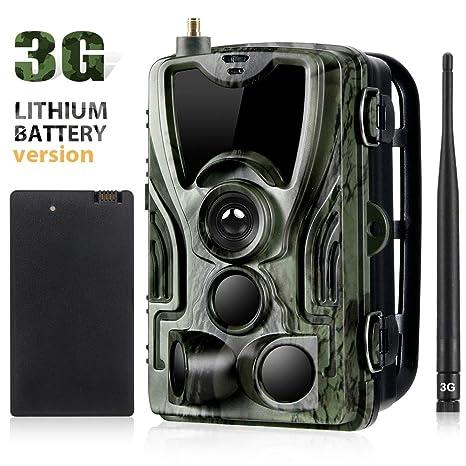 SunTek 3G 2G Cámara de Caza 16MP 1080P Cámara de vigilància de la ...