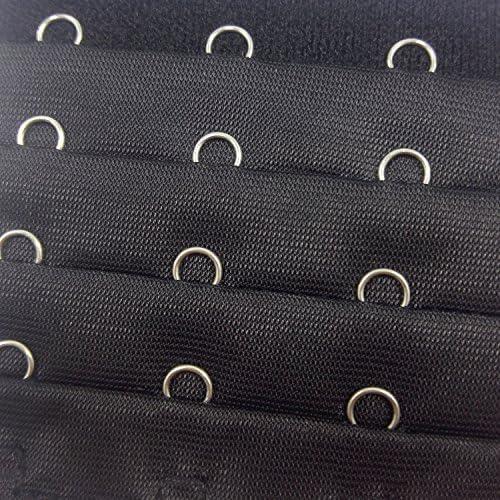 Gold Fortune Damen BH-Verl/ängerung aus Baumwolle 4 Reihen 4 Haken