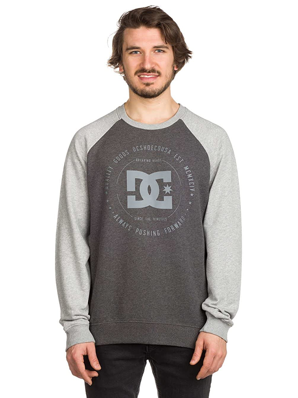 DC Herren Sweater Rebuilt Raglan Sweater