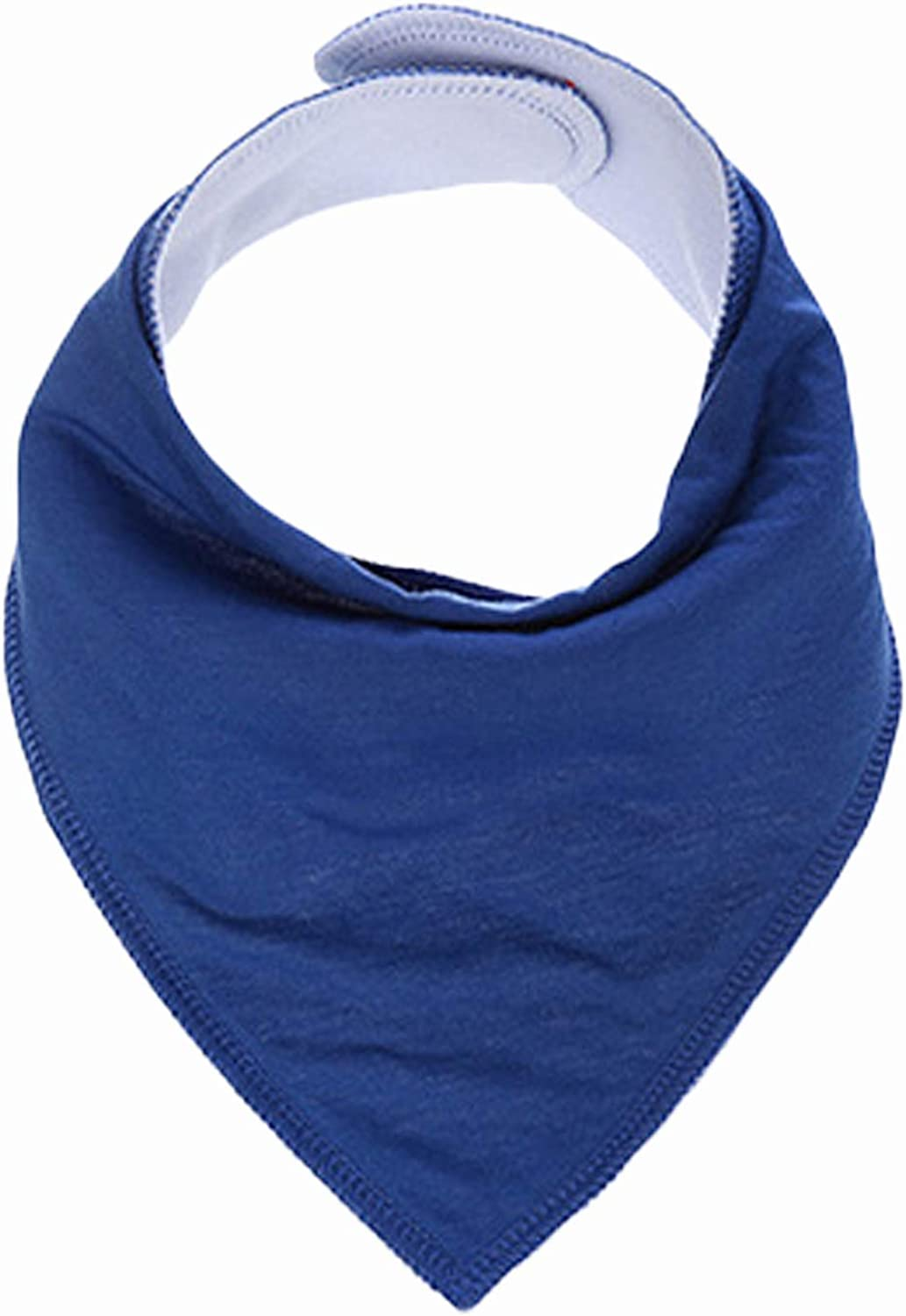 Bestgift Unisex Baby Snap Drool Bibs Cotton Solid Color