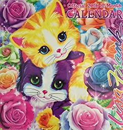 Lisa Frank Official 2016 12-month Calendar