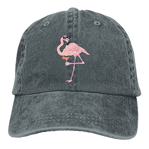JTCY Sunglass Flamingos Plain Washed Dad Solid Cotton Polo Style Baseball Cap Hat - Sunglasses Jt