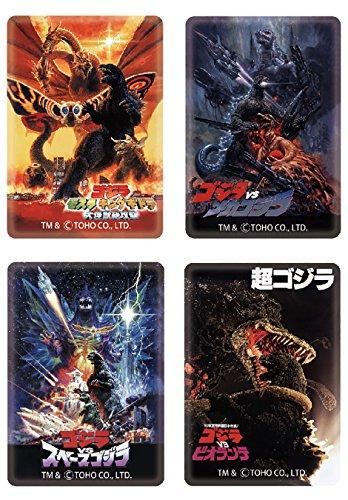 JP PRODUCTS Godzilla Magnet Four Set/Poster Series [Set 1] (Godzilla Magnet)