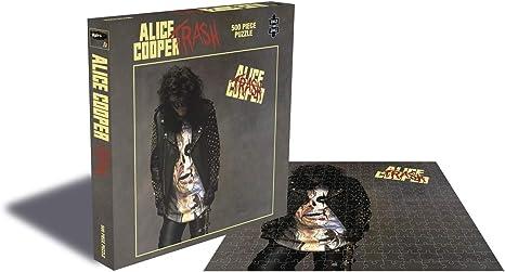 Alice Cooper Jigsaw Puzzle Trash Album