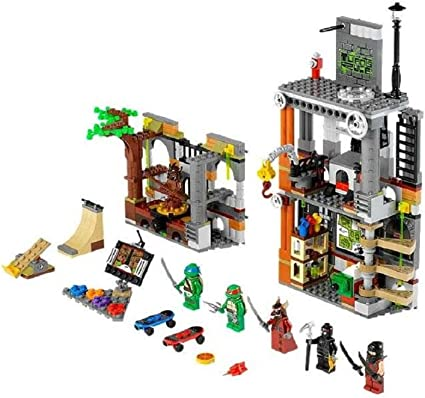 Amazon.com: LEGO teenage mutant ninja turtles Lair Attack ...