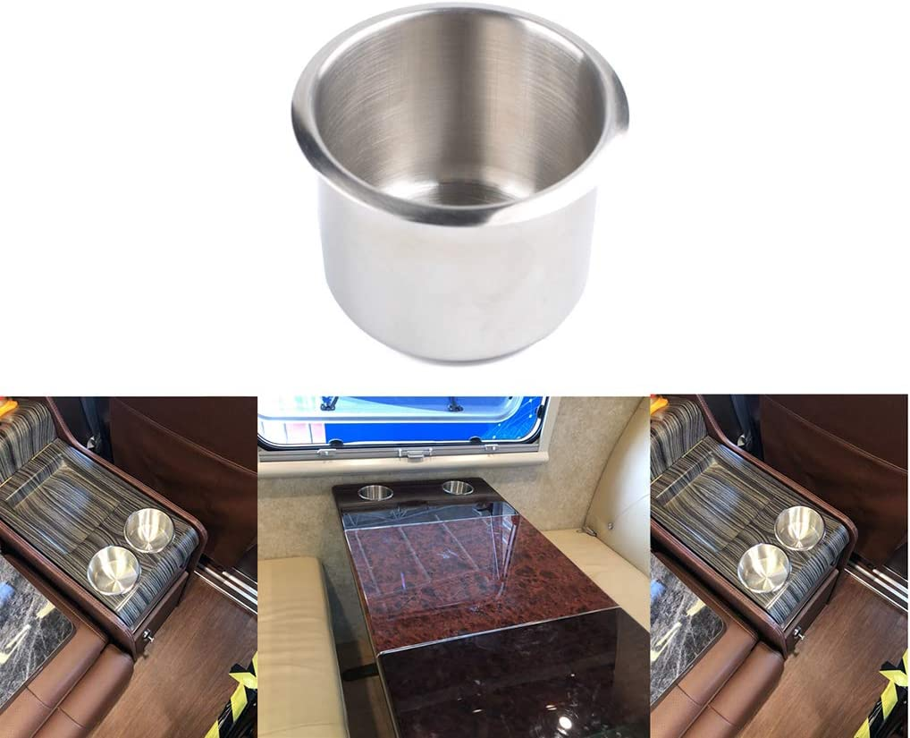 BeIilan Marine-Edelstahl-Cup Getr/änkehalter 90cm Hight Qualit/ät Boots-Auto-LKW-Camper RV Rust Proof-Flaschenhalter