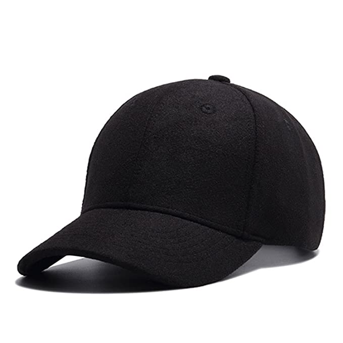 b25dee989e5 Autumn and Baseball Cap Cotton Warm Sports Solid hat Leaf Sport Cap for Men  and Women Father s Best Gifts Hat at Amazon Men s Clothing store