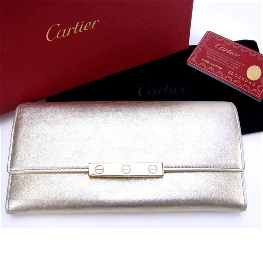 カルティエ Cartier 長財布 ラブシリーズ 中古 T10692   B07R79GK6G