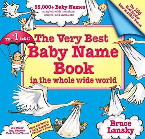 Name Best Very Baby Book (Very Best Baby Name Book)