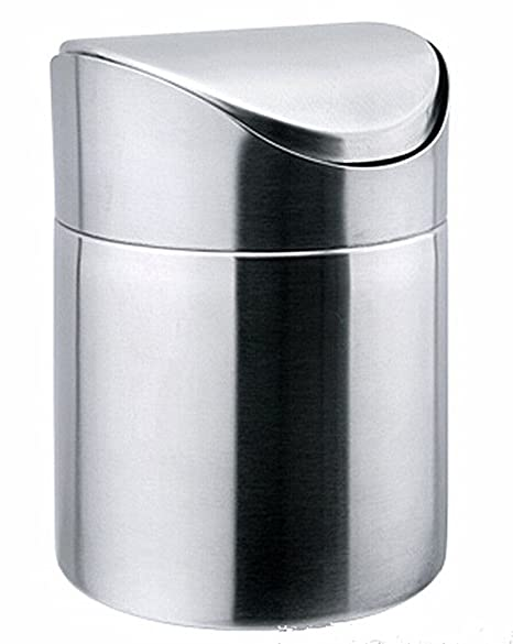 swing bins round lid cans slim co tall garbage can trash with grand kitchen sageweb