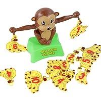 Andensoner Monkey Balancing Scale Toy, Monkey Math Balancing Scale Number Balance Game Niños Juguetes educativos para Aprender Añadir y restar