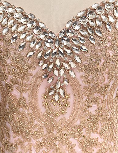 Abendkleider Party Lang Erosebridal mit Perlen Ballkleid Schwarz Herz Ausschnitt Kleid TwEF1qgPF