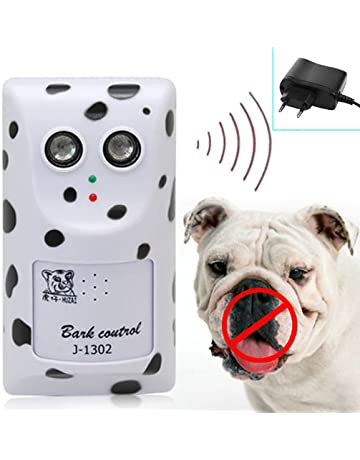 Qiuxiaoaa Mascota Dispositivo de Ronquido Ultrasónico Ultrasónico de Alta Potencia Humanamente Anti Sin Dispositivo de Corteza