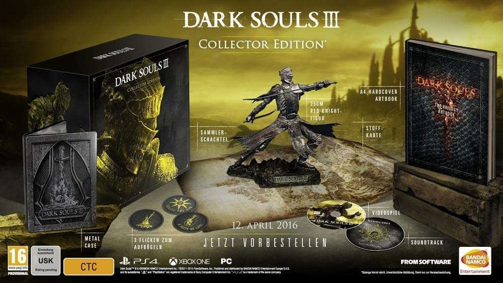 Dark Souls III - Edición Coleccionista: Amazon.es: Videojuegos