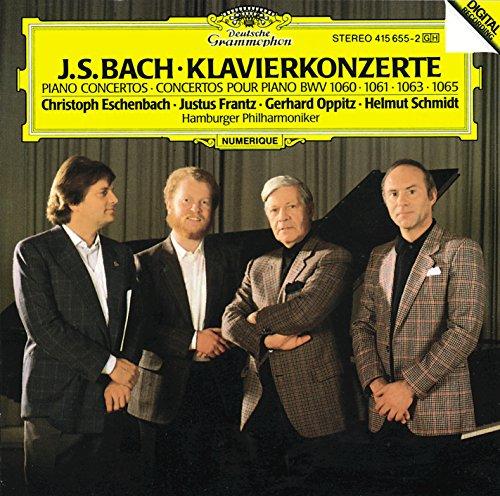 Bach Classical Piano - Bach, J.S.: Piano Concertos BWV 1060, 1061, 1063 & 1065