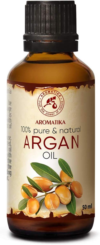 Argan Aceite 50ml - Argania Spinosa - Marruecos - Cuidado para Сabello - Pelo - Piel - Rostro - Cuerpo - Argan Oil
