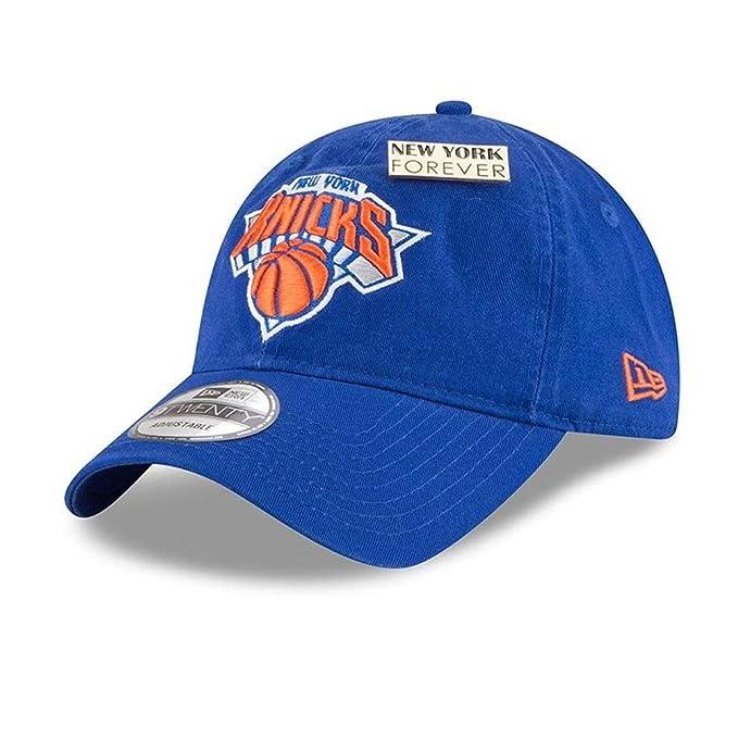 77815625c31 Amazon.com  New Era New York Knicks 2018 NBA Draft Cap 9Twenty Adjustable  Dad s Hat- Royal  Sports   Outdoors