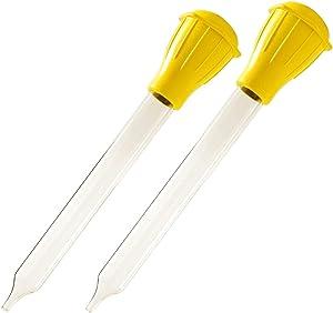 Norpro 5897 Dishwasher Safe Glass Baster (2 Pack)