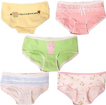 Women 4 Cotton Briefs Panties Pack Body Candy