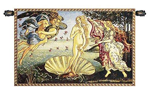 Nascita di Venere by Sandro Botticelli Italian Tapestry Wall
