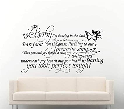 Amazoncom Bailan Wall Stickers Quotes Vinyl Art Room Mural Posters