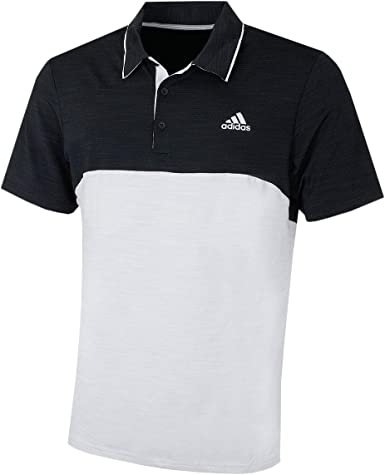 adidas Ultimate 365 Heather Blocked Polo, Hombre: Amazon.es: Ropa ...