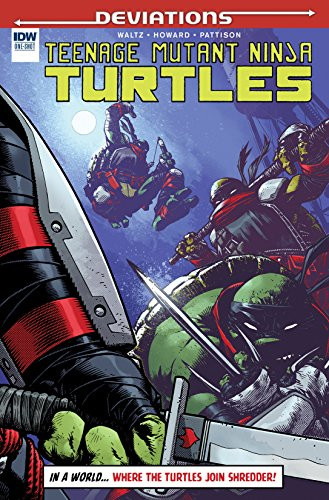 Teenage Mutant Ninja Turtles Deviations #1 (IDW Deviations)