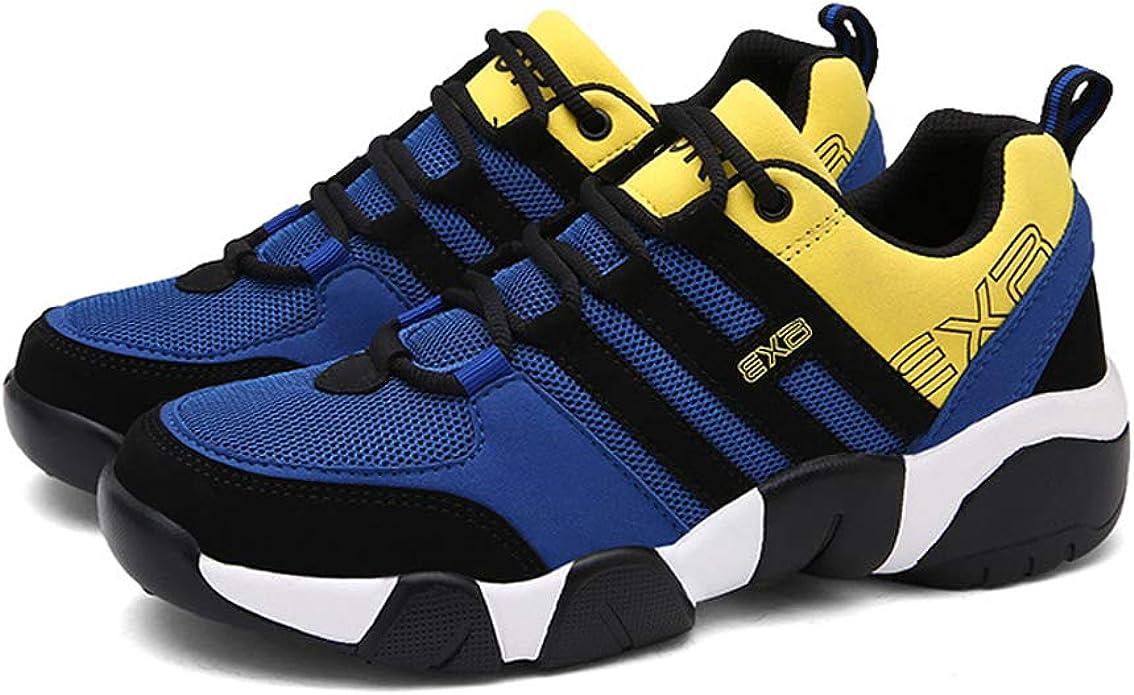 Zapatillas de Deporte para Hombre Mezclas de Colores Zapatillas de Correr de Ocio y de Alta Transpirable Zapatillas de Deporte Resistentes al Desgaste: Amazon.es: Zapatos y complementos