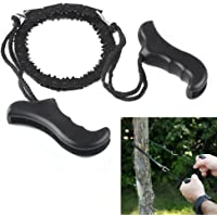 AoToZan Pocket Chainsaw Hand Wire Saw Survival Camping Tool Pocket Gear 100cm for Outdoor, Survival Gear, Camping Gear, Hiking, Gardening
