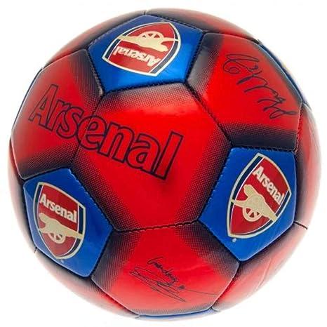 Arsenal FC - Balón de fútbol, Color Rojo/Azul, tamaño Talla única ...